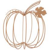 Wire Metal Pumpkin
