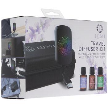 Essential Oil LED Travel Fan Diffuser