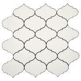 Quatrefoil Tile Adhesive Wall Art