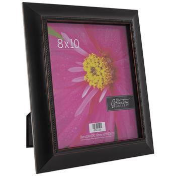 "Distressed Black Beaded Frame - 8"" x 10"""