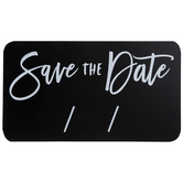 Save The Date Chalkboard Wood Decor