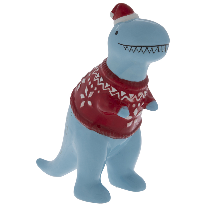 T Rex Christmas Lawn Decoration  from imgprd19.hobbylobby.com