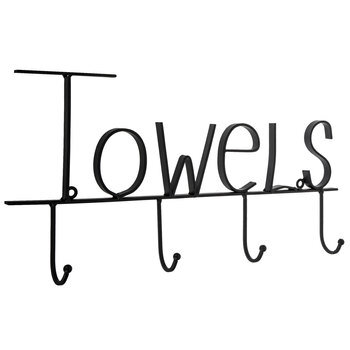 Towels Wall Decor With Hooks