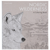 Nordic Wilderness Coloring Book