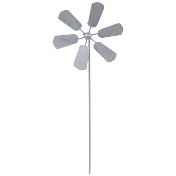 Windmill Metal Garden Pick