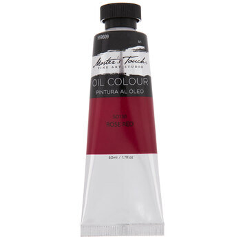 Rose Red Master's Touch Oil Paint - 1.7 Ounce