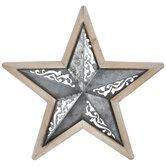 Swirl Cutout Star Metal Wall Decor