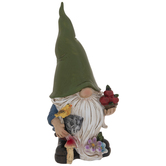Green Gnome With Apples