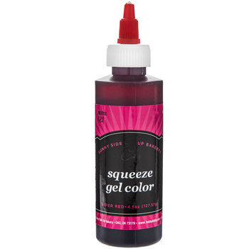 Super Red Squeeze Gel Color - 4.5 Ounce