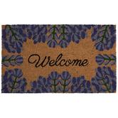 Lavender Welcome Doormat