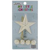 Mini Star Tree Topper & Ornaments