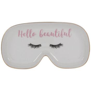 Hello Beautiful Eyelashes Jewelry Dish