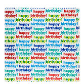 Happy Birthday Foil Gift Wrap
