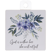 God Is Within Her Magnet