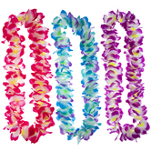 Pink, Purple & Blue Leis