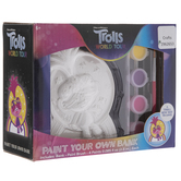 Trolls Coin Bank Kit