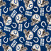 NFL Indianapolis Colts Fleece Fabric