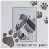 Pawprint Employee Of The Month Wood Frame - 5