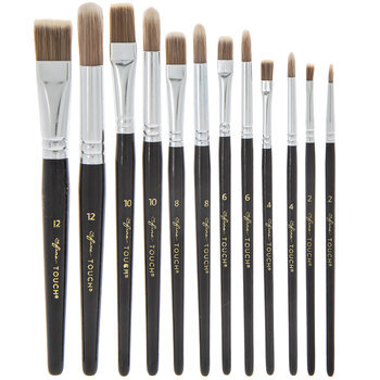 All Purpose Paint Brushes - 12 Piece Set