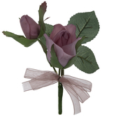 Mauve True Touch Rose Corsage