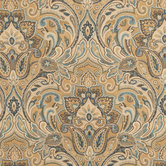 Gold Chinaisa Paisley Fabric