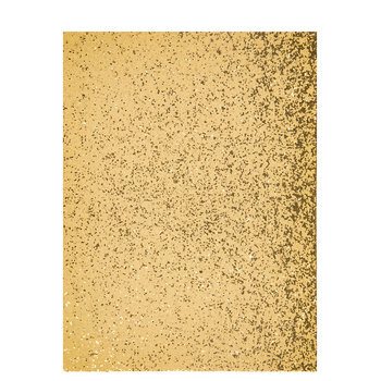 Gold Chunky Glitter Fabric Sheet