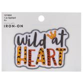 Wild At Heart Iron-On Applique