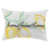 Home Sweet Home Lemons Pillow