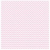 "Light Pink & White Chevron Scrapbook Paper - 12"" x 12"""