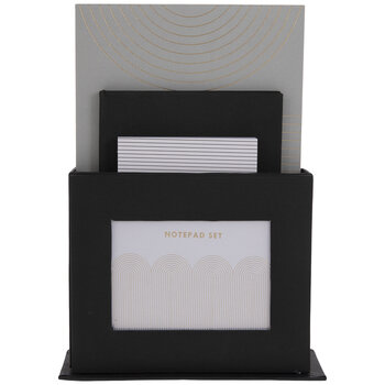 Art Deco Notepads With Stand