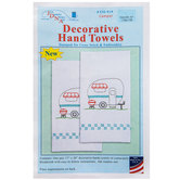 Camper Decorative Cross Stitch & Embroidery Towels Kit