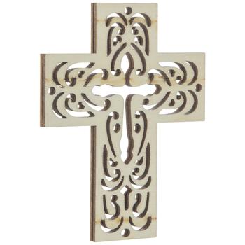 Square Cross Wood Shape