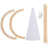Teepee Wood Model Kit