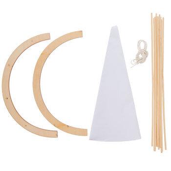 Teepee Wood Model Kit