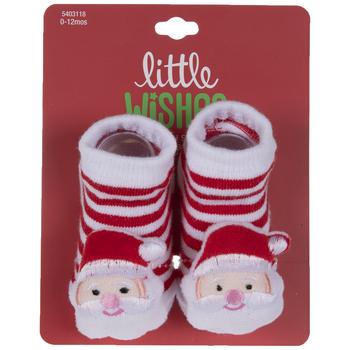 Santa Striped Socks
