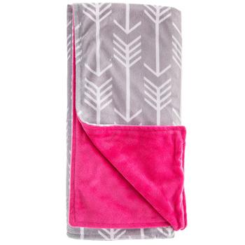 Arrow Minky Baby Blanket