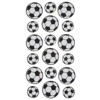 Soccer Glitter Stickers