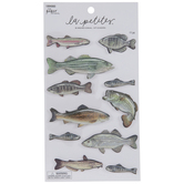 Realistic Fish 3D Stickers