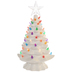 White Christmas Tree Light Up Decor