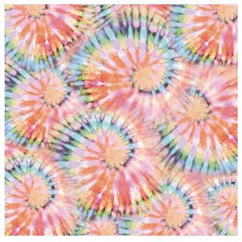 "Tie-Dye Glam Glitter Scrapbook Paper - 12"" x 12"""