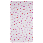 Red & Pink Heart Table Cover