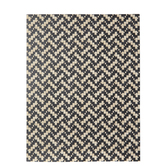 "Black & Natural Woven Chevron Paper - 8 1/2"" x 11"""