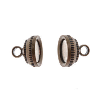 Round Magnetic Bead Clasps - 14mm