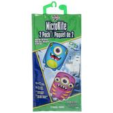 Blue & Purple Monster Microkites