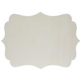 "Quatrefoil Scroll Wood Blank Canvas - 11"" x 15"""