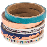 Copper & Blue Washi Tape