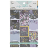 Moody Floral Foil Planner Stickers