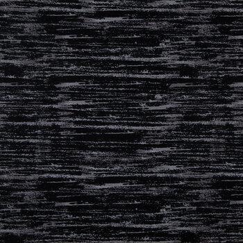 Black Bark Cotton Calico Fabric