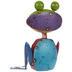 Multi-Color Distressed Metal Frog