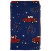 Trucks & Fireworks Table Cloth